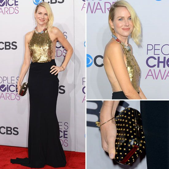 Pictures of Naomi Watts in McQueen Peoples Choice Awards