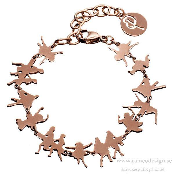 Barnarmband Play i rosé från EDBLAD, 249 kr. EDBLAD skänker 50 kr till barnutbildning i Tanzania för varje sålt armband. http://www.cameodesign.se/edblad-armband-a106-p-3978.html
