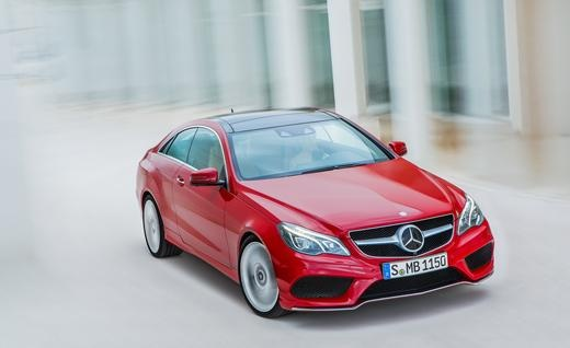 2014 Mercedes-Benz E550 Coupe - Photo Gallery of First Drive Review from Car and Driver -