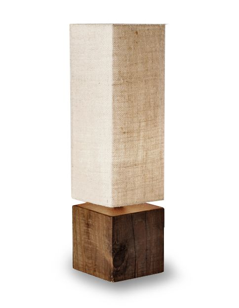 Bring some organic ambience to any room with carefully-placed Block Lamps by Susie Frazier. Manufactured out of solid cubes of reclaimed timber, these lamps look great in pairs or as a stand-alone accent. Features a custom fabric shade based on an original photograph shot during one of Susie's many nature walks.