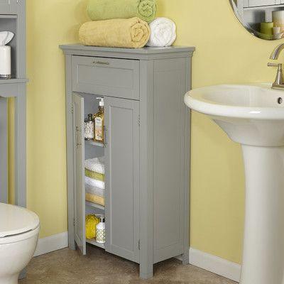 riverridge somerset two door storage floor cabinet grey
