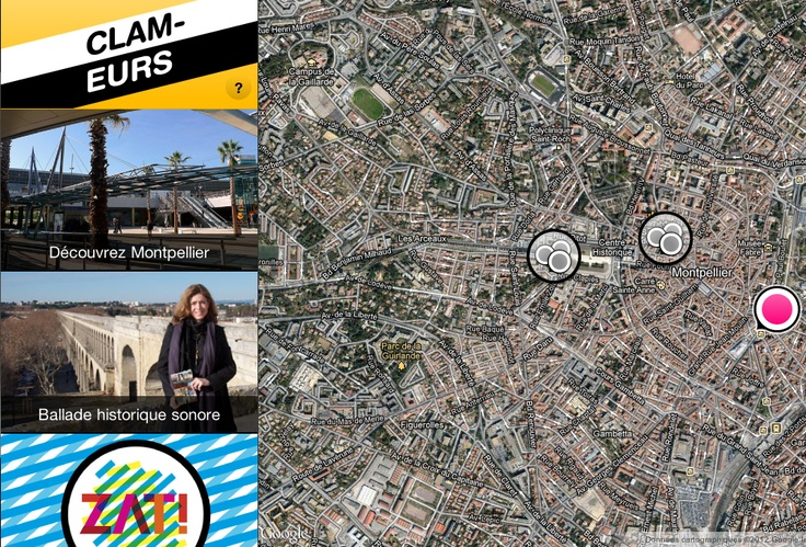 Ballades Sonores - Montpellier - http://map.clameurs.fr/mairie