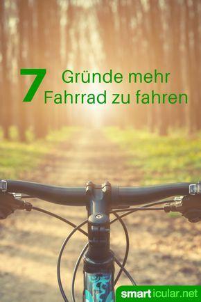 Fahrradfahren macht glücklich, schlau und fit