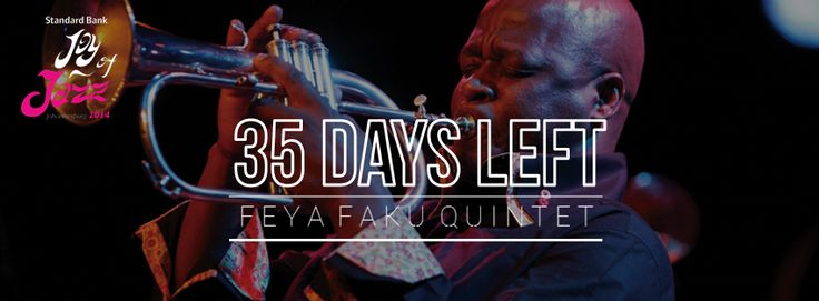 35 DAYS LEFT!! Join us at this year's Standard Bank Joy of Jazz Festival   Get your tickets now at Computicket bit.ly/1lz9kCd