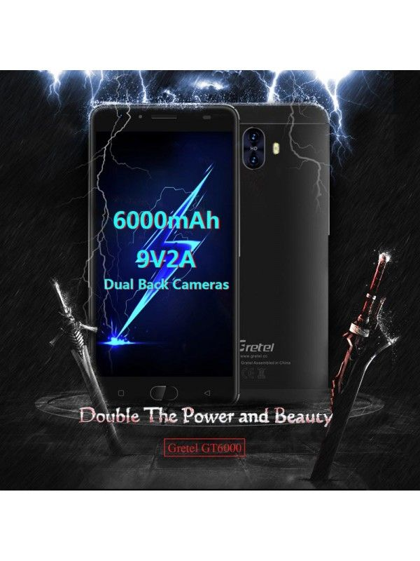 Gretel GT6000 Android Phone (Blue)