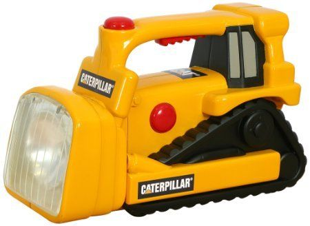 Toy State Caterpillar Construction Flash Light And Night Light: Bull Dozer //Price: $20.92 & FREE Shipping //
