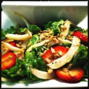 Strawberry Fennel Salad.