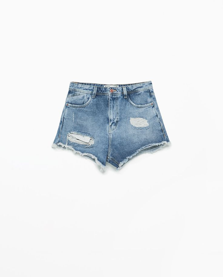 DENIM SHORTS-Shorts-Jeans-WOMAN | ZARA Thailand created by #ShoppingIS
