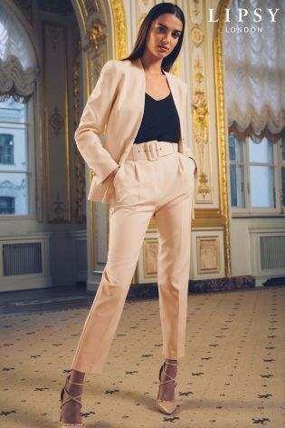 90e0c6ba9c0a Womens Lipsy Tailored Belted Trouser | Women's Belts | Fashion ...