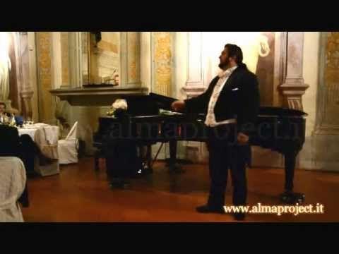 ALMA PROJECT @ Villa Corsini - DR Tenor & LB Piano - Nessun dorma (Giacomo Puccini, Turandot)
