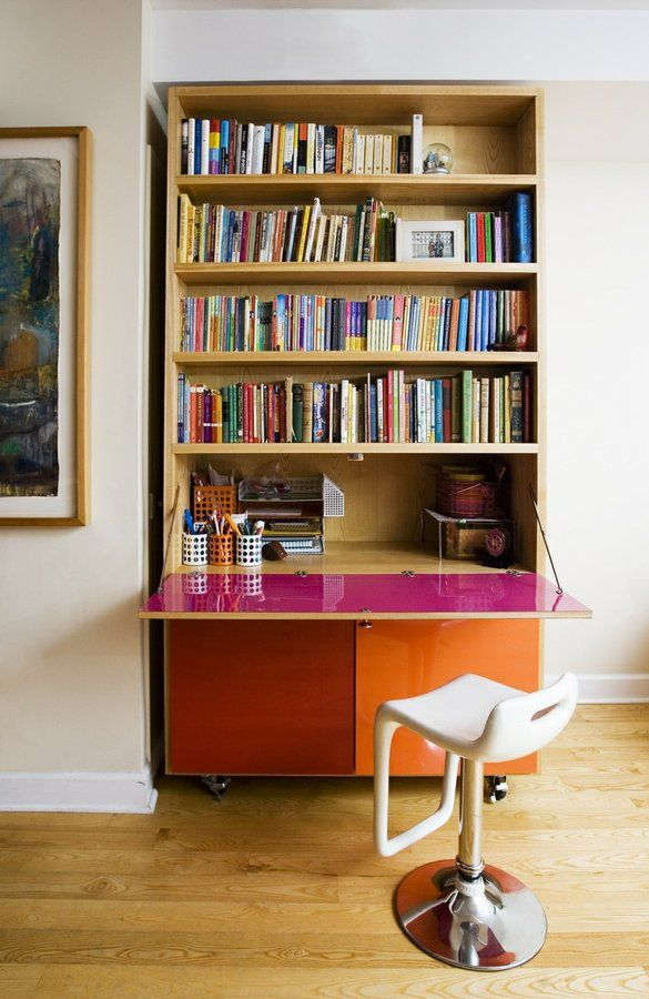17 Best Ideas About Bookshelf Desk On Pinterest