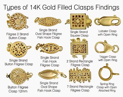Old Fashioned Jewelry Clasps
