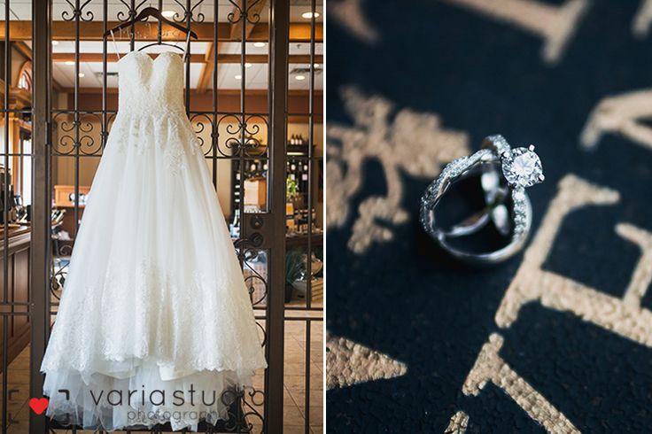 Early Spring Wedding | Inn on the Twenty | Early Spring Wedding - Bride's wedding dress