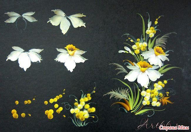 Нашла на одном сайте работы прекрасного мастера Галины Торкотюк. Такие легкие, изящные у нее мазки. Так внимательно, детально и живо переданы птички, цветы, листики.