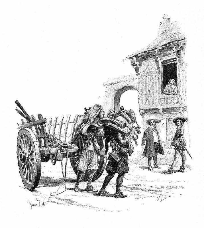 Три мушкетера с иллюстрациями скачать книгу