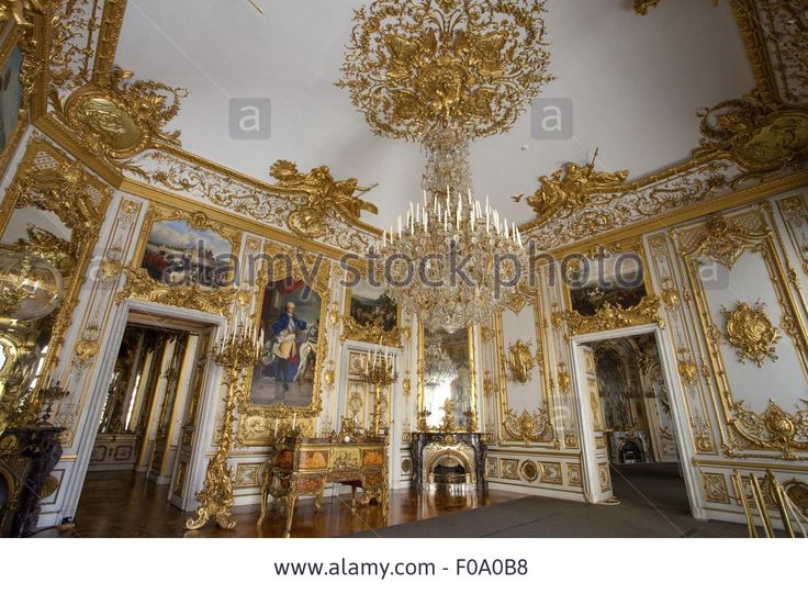 Herrenchiemsee Castle (New Palace) in Bavaria, Germany