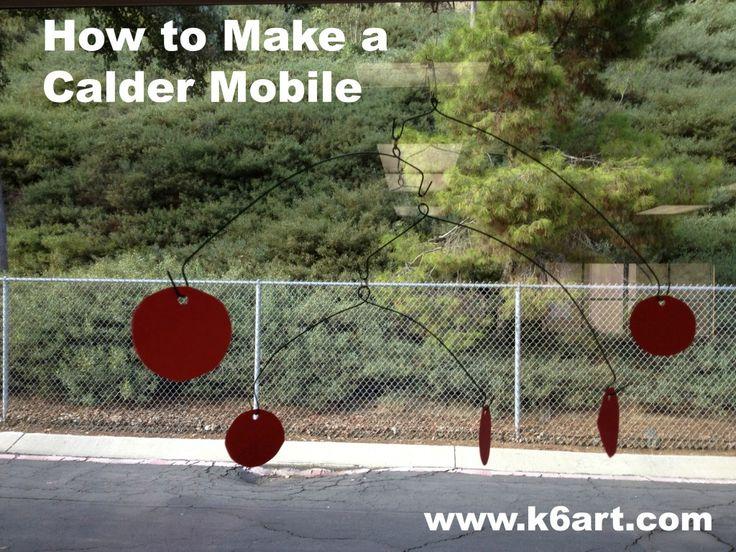 Hoe maak je een Calder Mobile maken » K - 6 Art K – 6 Kunst