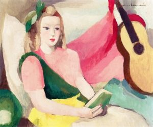 Woman Reading - Marie Laurencin - The Athenaeum