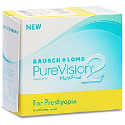 Προσφορά PureVision2HD Multi-Focal - 53.00€ - Με 1 κουτί, 1 BIOTRUE 300ml ΔΩΡΟ - Μαλακοί μηνιαίοι πολυεστιακοί φακοί επαφής της Bausch+Lomb. Εάν δυσκολεύεστε να διαβάσετε σε κοντινή απόσταση, πιθανόν έχετε πρεσβυωπία, δεν σημαίνει όμως ότι χρειάζεστε πολυεστιακά ή γυαλιά ανάγνωσης. Οι PureVision 2HD Multi-Focal με καινοτόμο σχεδιασμό, επιτρέπουν να δείτε καθαρά, κοντά, μακριά και σε όλες τις ενδιάμεσες αποστάσεις. Οι πρώτοι φακοί σιλικόνης υδρογέλης με AerGel, υλικό που παρέχει άνεση και…