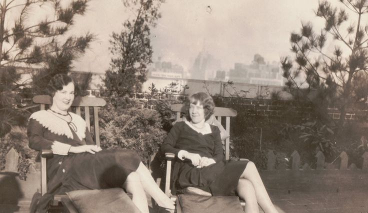 Moments in Time, A Genealogy Blog: Friday's Photo: Grandma's Friend, Cleo Hauser #genealogy