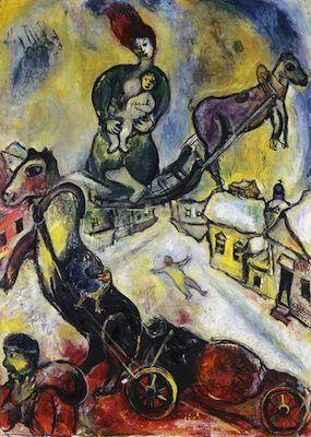 La guerre, par Marc Chagall ══════════════════════ BIJOUX DE GABY-FEERIE ☞ http://gabyfeeriefr.tumblr.com/ ✏✏✏✏✏✏✏✏✏✏✏✏✏✏✏✏ ARTS ET PEINTURES - ARTS AND PAINTINGS ☞ https://fr.pinterest.com/JeanfbJf/artistes-peintres-painters/ ══════════════════════