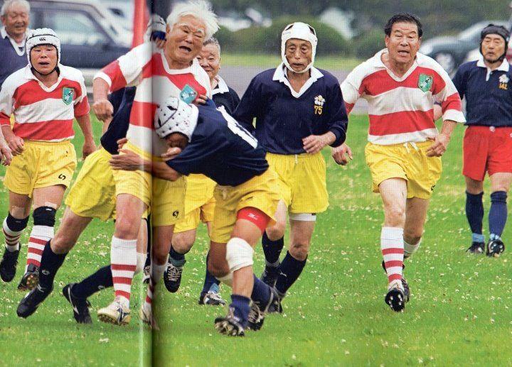 La foto del giorno: quando il rugby non ha davvero età