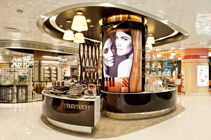 Retail Design | Health & Beauty | Shop Design | Sheridan NY design a concession for Laura Mercier in Tangs Orchard, Singapore.
