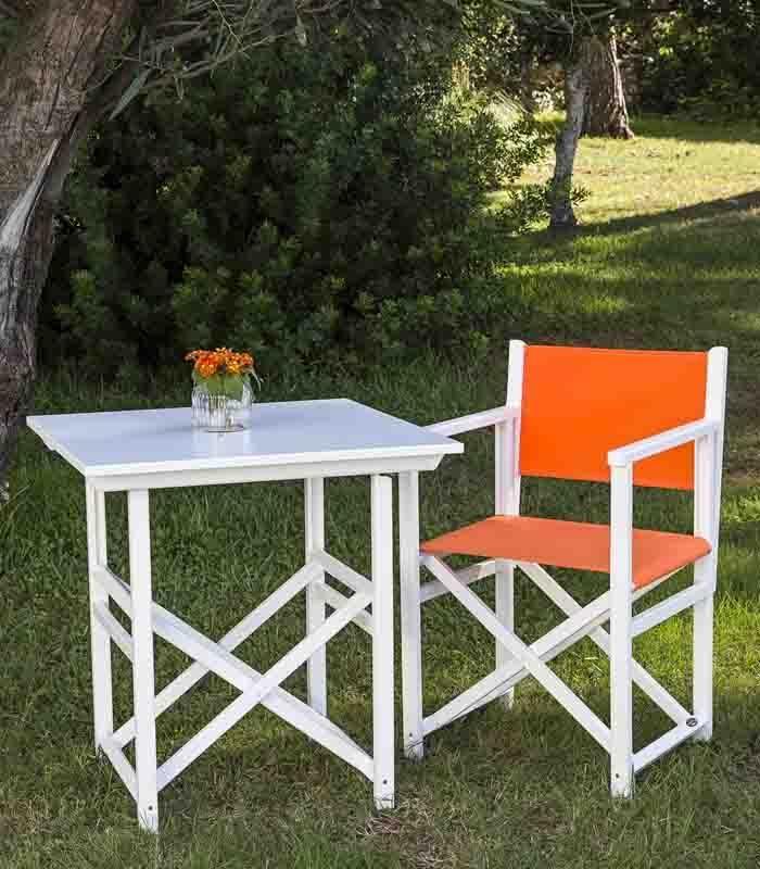 la mesa de exterior con tapa de x cm esta disponible en cinco acabados