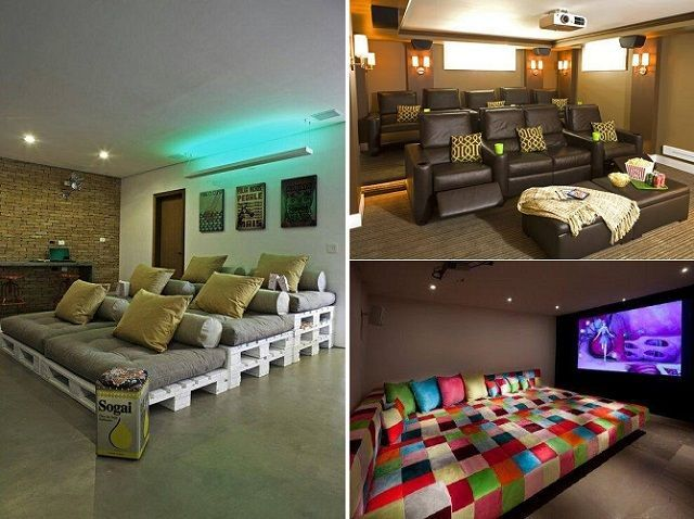 25 Best Ideas About Pallet Movie Theaters On Pinterest