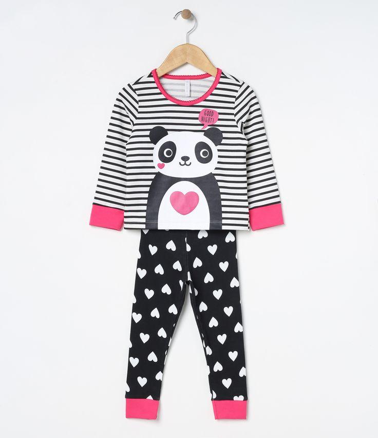 Pijama infantil    Manga longa    Gola redonda    Estampado    Marca: Accessories    Tecido: malha             COLEÇÃO INVERNO 2017         Veja outras opções de    pijamas infantis.