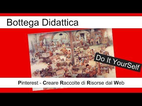 video tutorial - come si usa Pinterest? - 1^ parte - YouTube