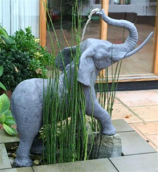 Unique 53 best Elephant ~ water features~ fountain and yard images on  JY42