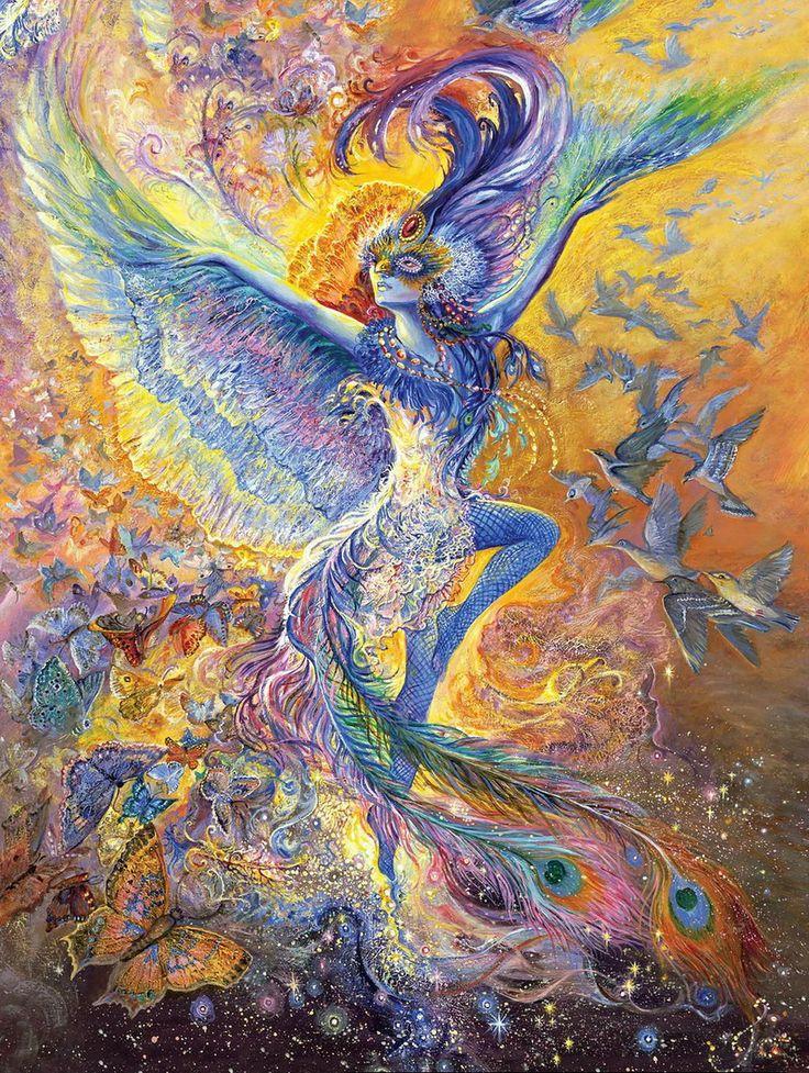 """""""Bluebird 2"""" par Josephine Wall"""