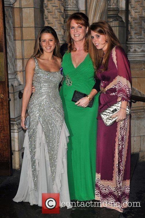Me, Princess Beatrice and Sarah Ferguson.