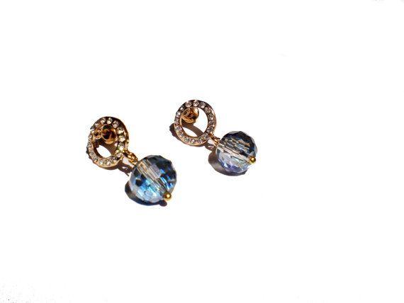 Dangle Earrings Beaded Earrings Boho Earrings by twolittlefairies