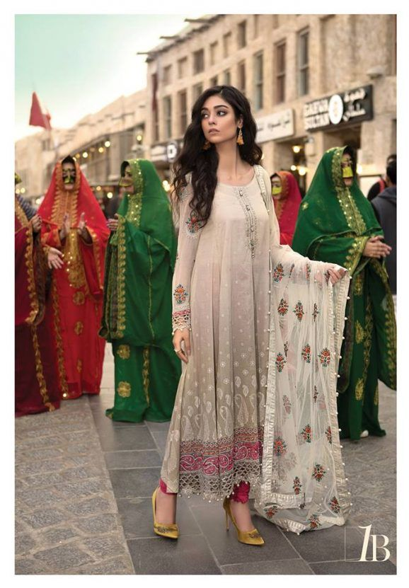 047974e5e54e Maria B Lawn Collection 2018 Best Pakistani Designer Summer Dresses ...
