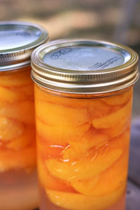 If you have never canned before, you might want to start by canning something easy, like fresh peaches!