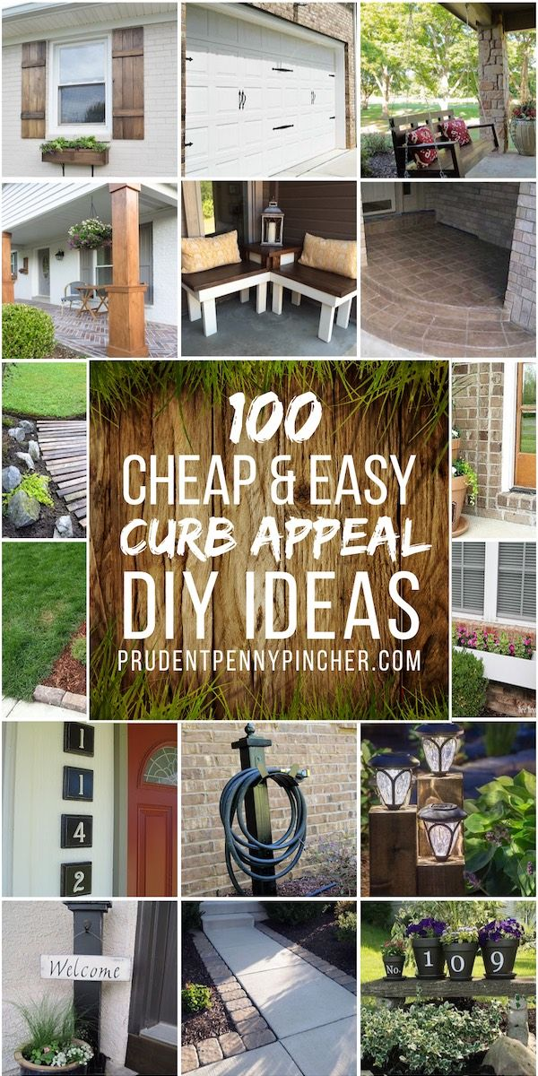 100 Cheap Easy Front Yard Curb Appeal Ideas In 2020 Landscape