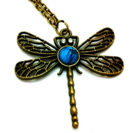 Andea Dragonfly Necklace