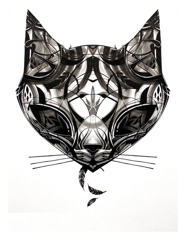 Cat Head by Guy McKinley
