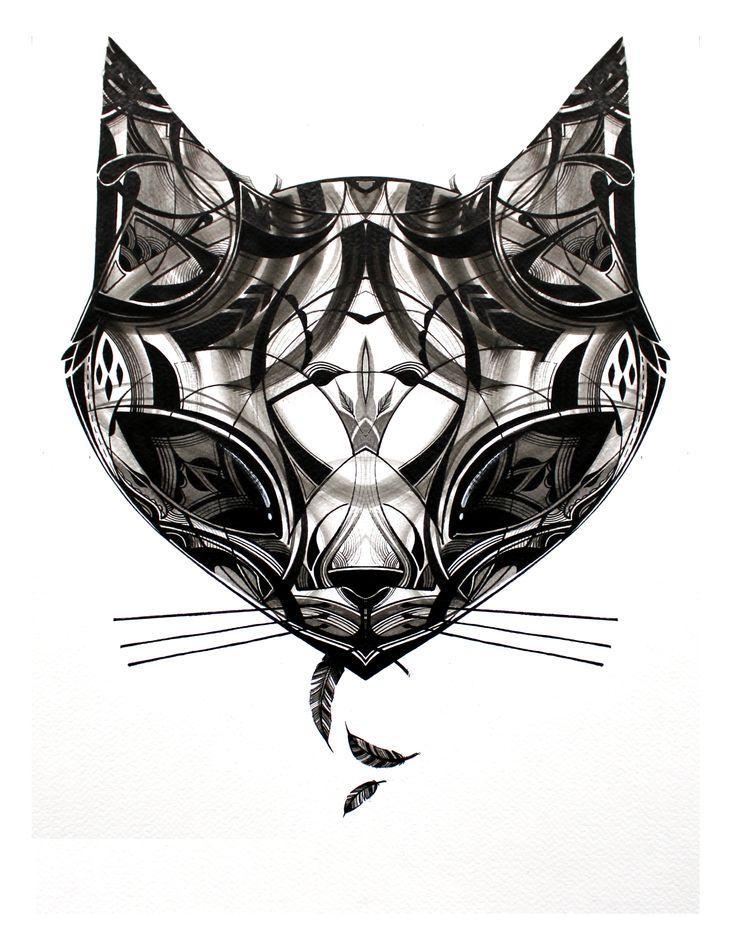 Cat Head by Guy McKinley