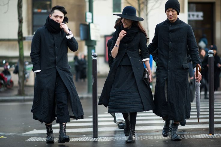 Paris Men's Fashion Week Fall 2014 Street Style Day 1 by Adam Katz Sinding.
