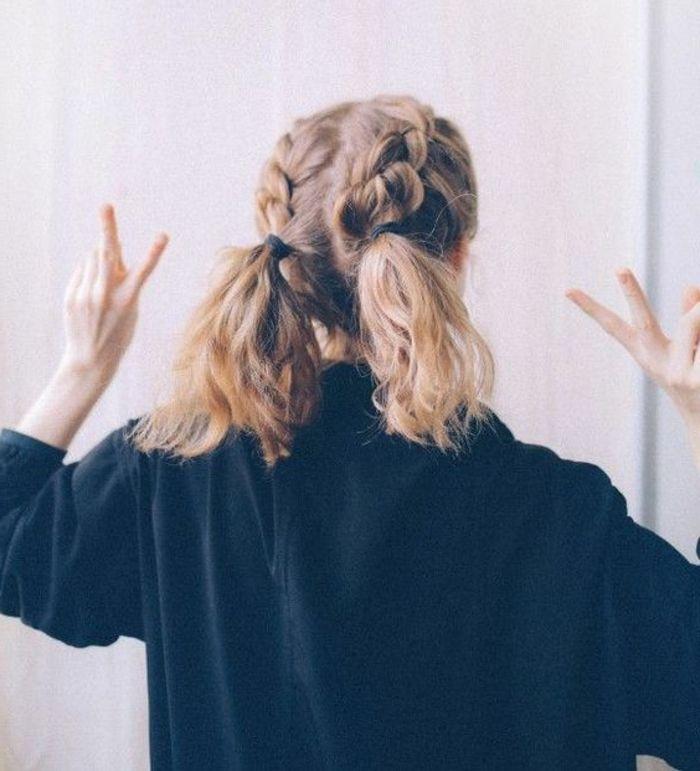 17 meilleures id es propos de tresses cheveux noirs sur pinterest tresses torsad es - Tresse queue de cheval ...