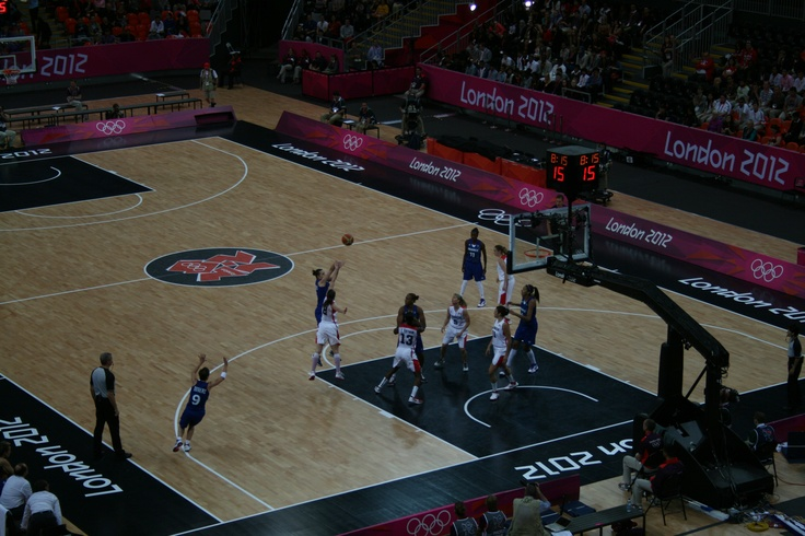 FRA v CAN Preliminary.  good game, CAN came back at last to lose by 4 points.  Viewable at http://www.london2012.com/basketball/schedule-and-results/day=1-august/index.html