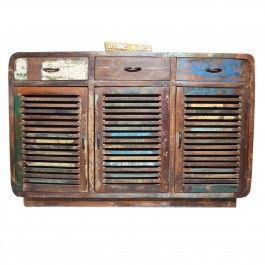 SALVAGE Reclaimed Timber Sideboard