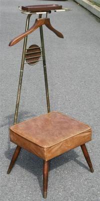 Danish Modern Valet Butler Chair