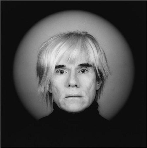 Andy Warhol par Robert Mapplethorpe