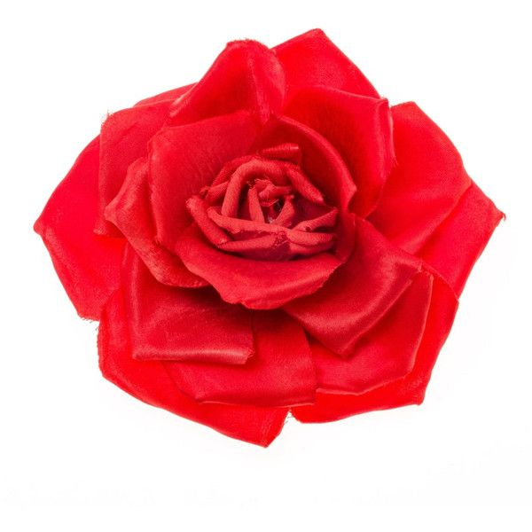 Johnny Loves Rosie Serena Red Single Rose Corsage ($24) ❤ liked on Polyvore featuring jewelry, brooches, red, rose jewellery, red rose jewelry, rose jewelry, rose brooch and red jewellery