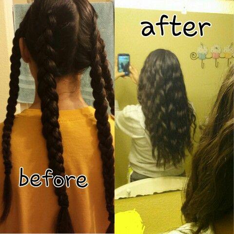 best 25 overnight braids ideas on pinterest overnight curls easy curls and overnight hairstyles