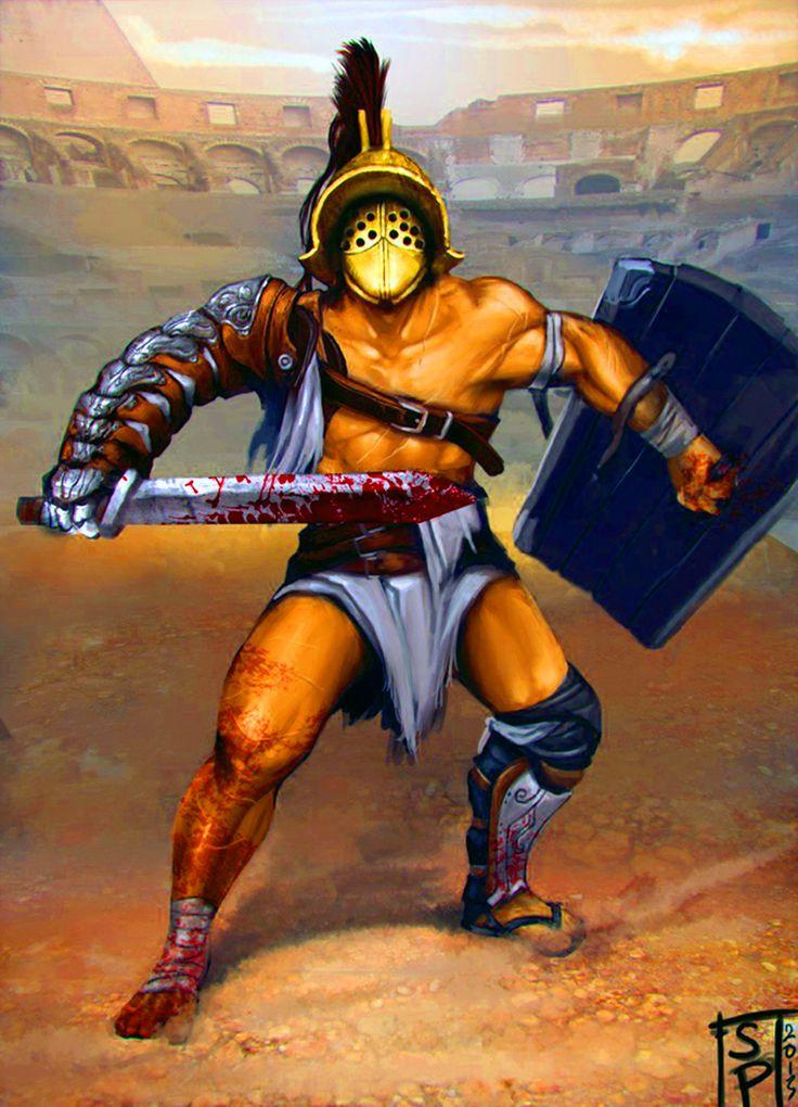 320 Best Gladiators War Art Images On Pinterest